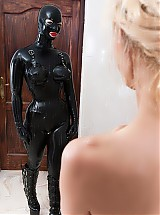 Rubber doll training
